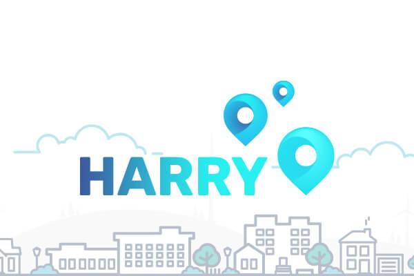 Logo-HARRY durch Markenentwicklung
